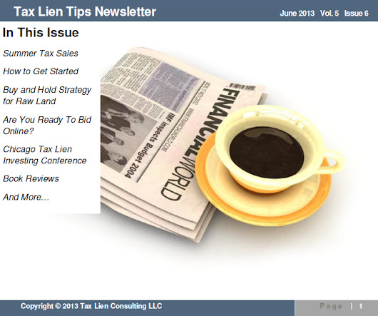 End Of Summer Tax Sales - Tax Lien Investing Tips
