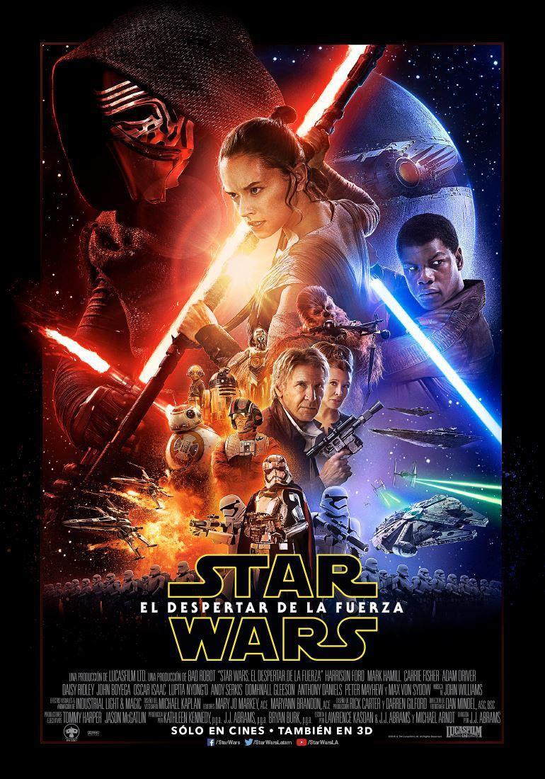 """El afiche de lo nuevo de """"Star Wars"""""""