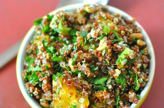 Healthy Quinoa Citrus Salad | Weight & Lifestyle Solutions - The Healthy Way