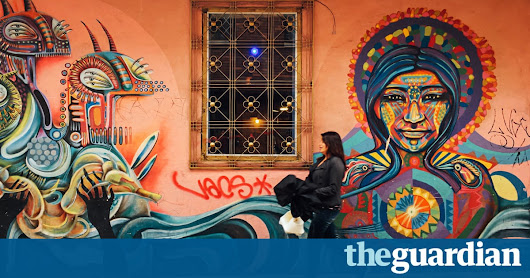 Graffiti brightens the streets of Bogotá – in pictures | Travel | The Guardian
