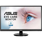 Asus VA249HE 23.8 LED LCD Monitor - 16:9 - 5 ms GTG - 1920 x 1080 - 16.7 Million Colors - 250 Nit - Full HD - HDMI - VGA - Black - WEEE, China Energy