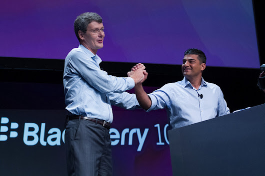 BlackBerry fires CEO Thorsten Heins, scraps buyout plan