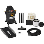 Shop-Vac - High Performance Wet/Dry Canister Vacuum - Black