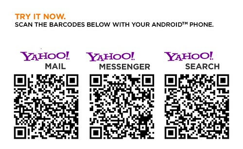Yahoo! Apps Android Download Barcode