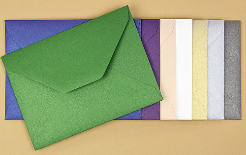 LCI Paper metallic envelopes