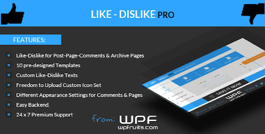 Download Like Dislike Counter Wordpress Plugin nulled | OXO-NULLED
