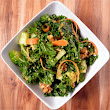 Crunchy Kale Salad with Savoury Miso Dressing - Healthy Life Redesign