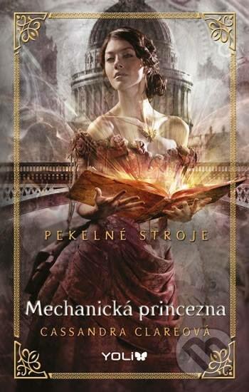 Výsledek obrázku pro mechanická princezna kniha