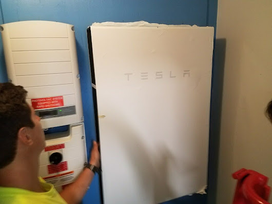 First Tesla Powerwall Installation in North Carolina | Yes Solar Solutions