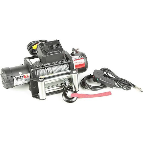 Bulldog Winch 10041 Winch 8000lbwith 5.2hp Series Wound Motor, Roller Fairlead, 100 Ft. Wire Rope