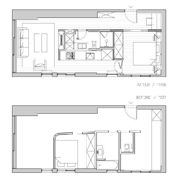 40 Sqm Apartment Floor Plan Apartment Poster