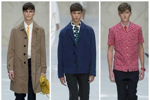 Moda masculina 2014: explosión de color