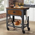 Whalen Vintage Kitchen Cart