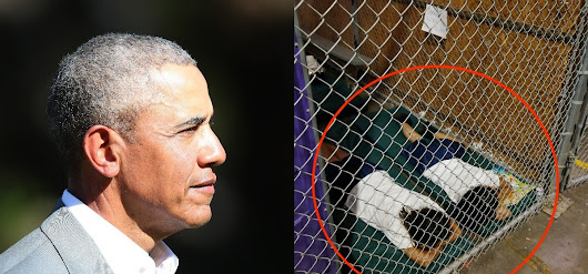 Here Are The Photos Of Obama's Illegal Immigrant Detention Facilities The Media Won't Show You