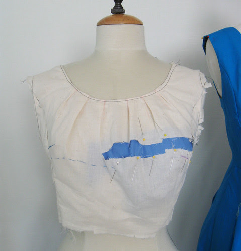 front muslin slash method2