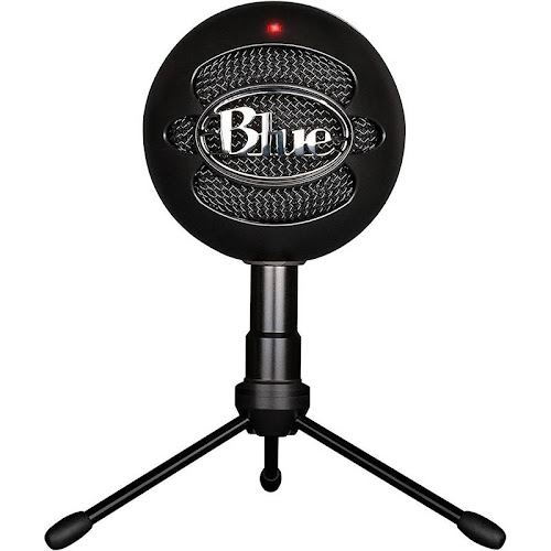 Blue Microphones Snowball Ice USB Condenser Microphone, Black
