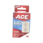 Ace Elastic Bandage with Clips, 3in