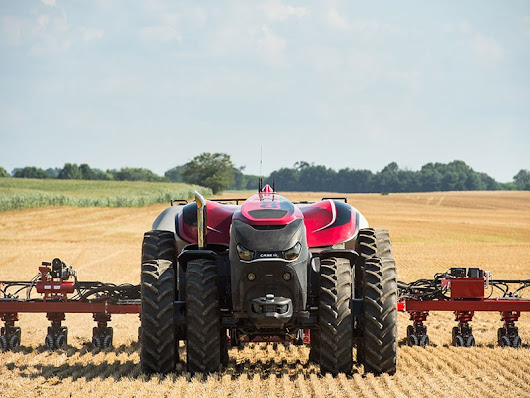 Driverless Case tractor to debut at AgQuip