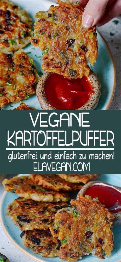 vegane kartoffelpuffer   vegetarische rezepte