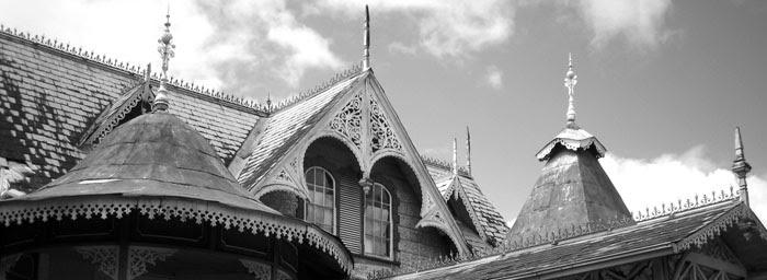 boissiere house roofline