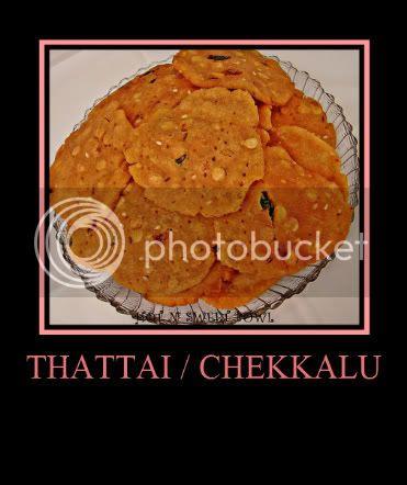Thattai / Chekkalu