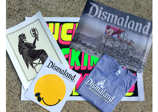 WIN A Bundle From Banksy's Dismaland Bemusement Park