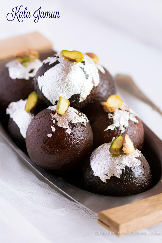 kala Jamun Recipe | Kala jamun recipe with khoya - Rachna's Kitchen