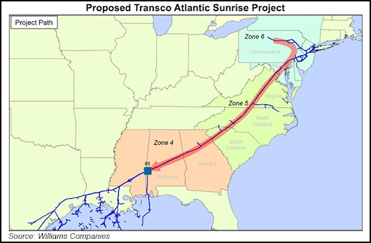 More Operations Can Begin on Williams' Atlantic Sunrise Project