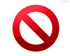 do not symbol