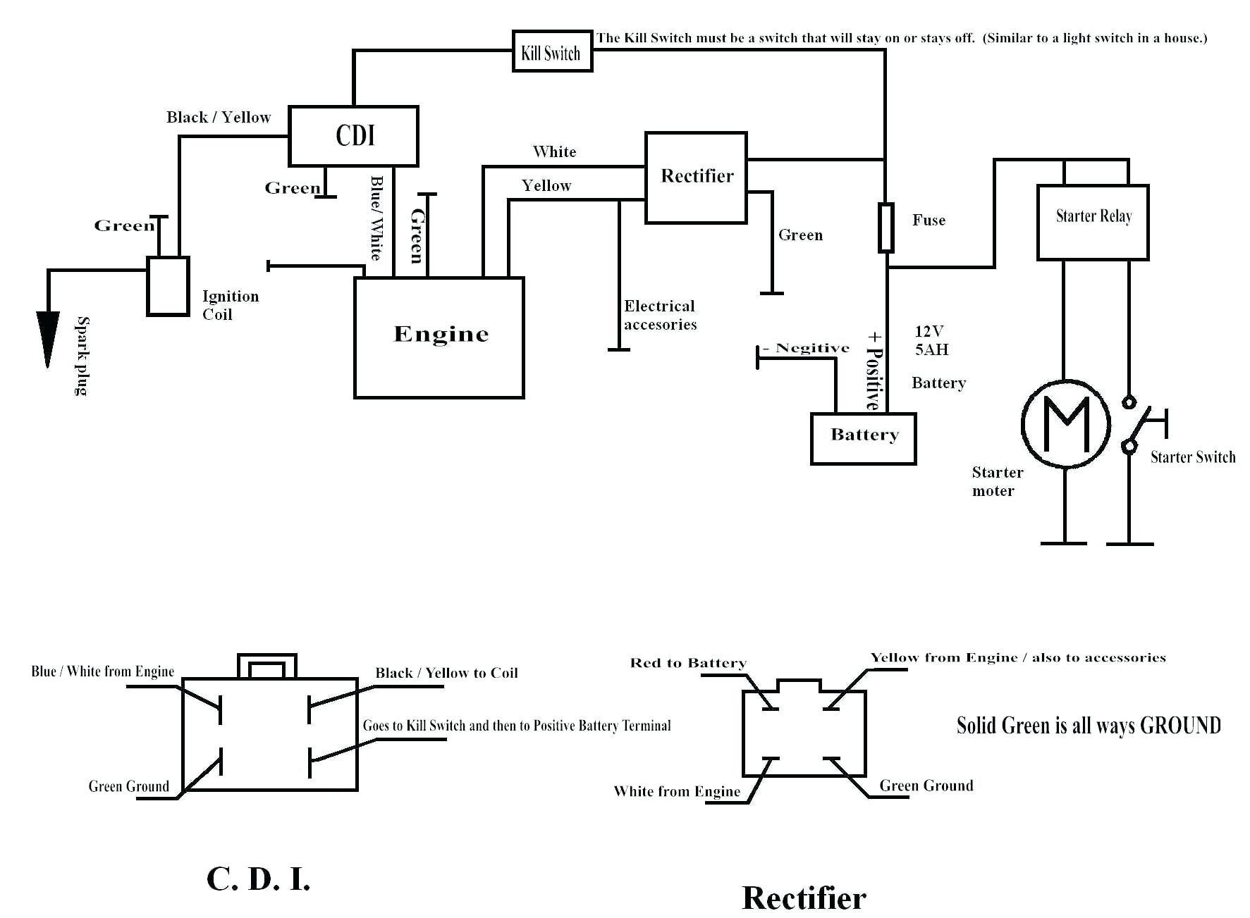 Buyang Atv Wiring Diagram