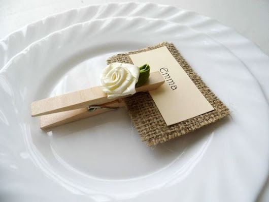 Wedding Place Card Place Card Holder Customized Wedding