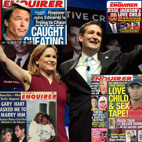 The National Enquirer Was Right About John Edwards, Tiger Woods and Jesse Jackson