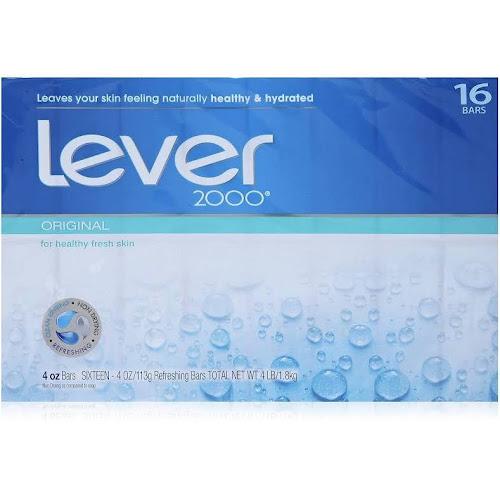 Lever 2000 Bar Soap Original 4 Oz 16