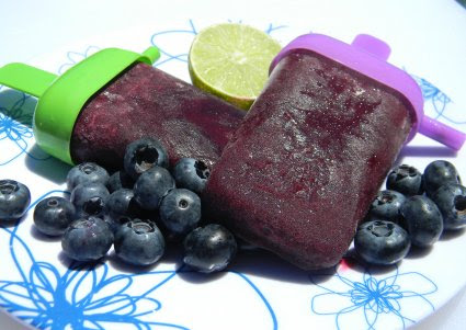 National Blueberry Popsicle Day and Enjoy