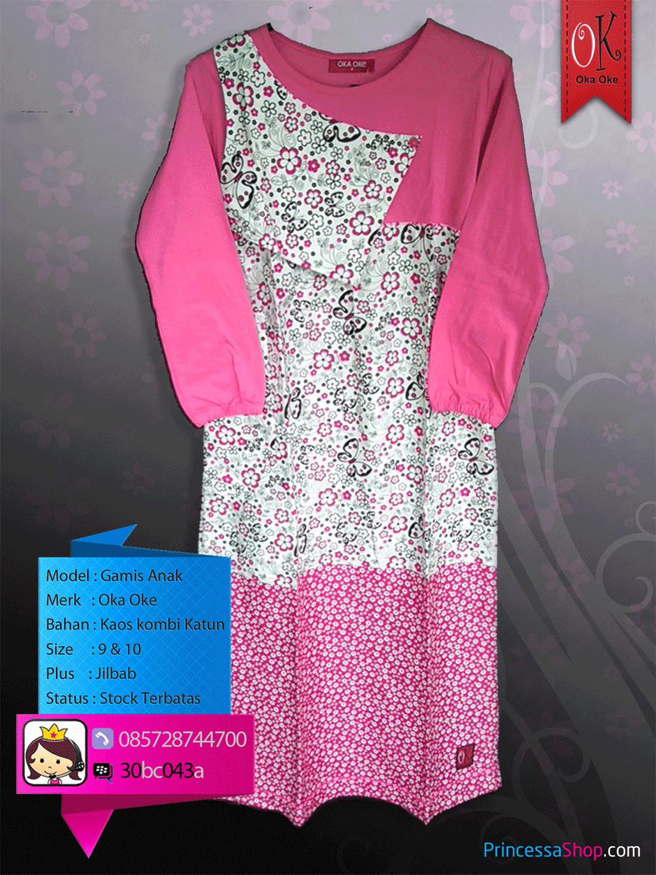 baju muslim anak perempuan on line murah dan berkualitas