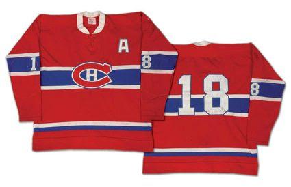 Montreal Canadiens 74-75 jersey, Montreal Canadiens 74-75 jersey
