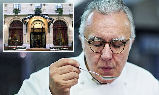 Alain Ducasse takes meat off the menu at his Paris restaurant