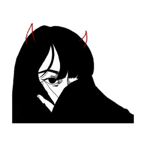 aesthetic satan devil demon girl anime manga goth gothi