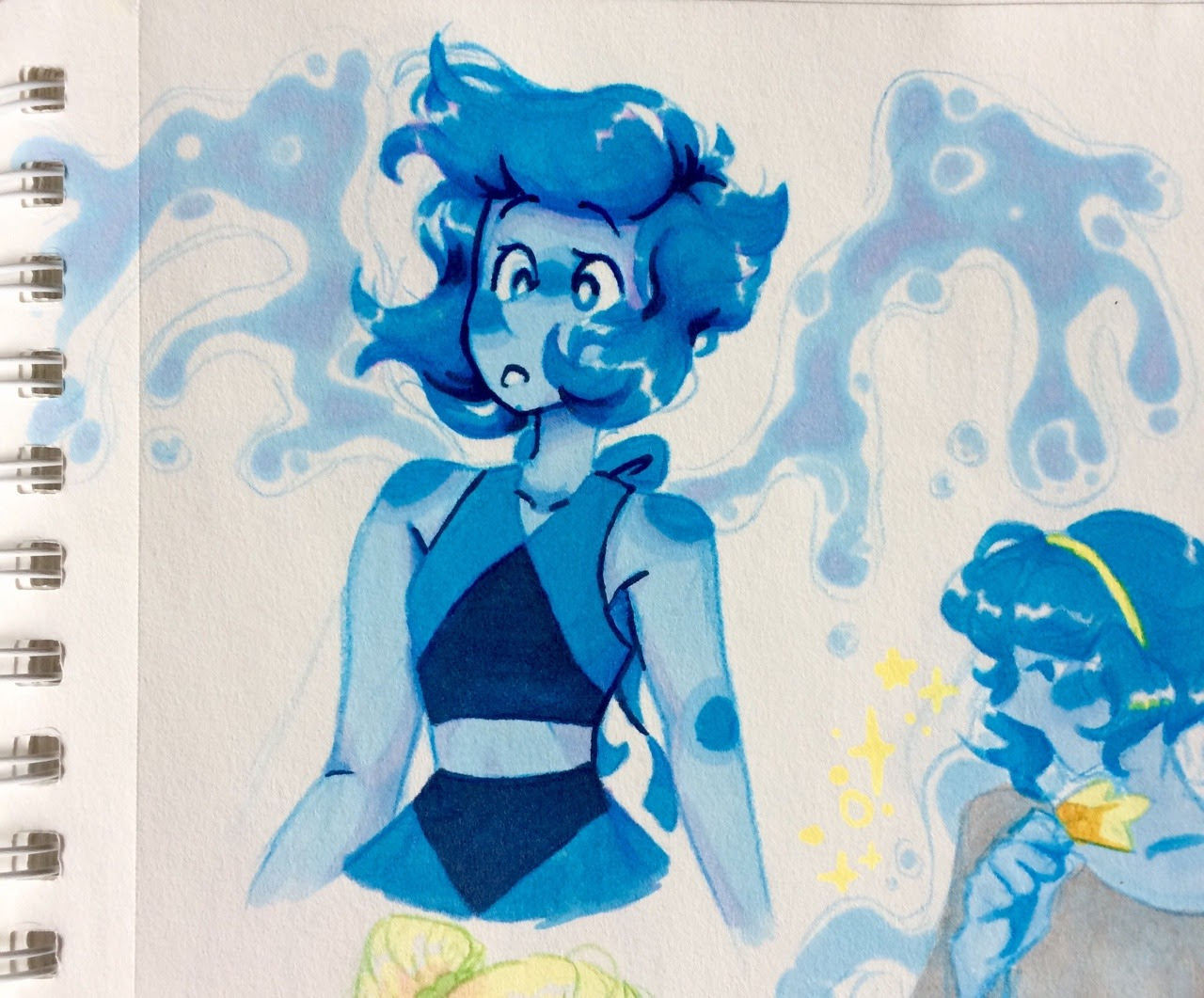 some misc su doodles from my sketchbook!