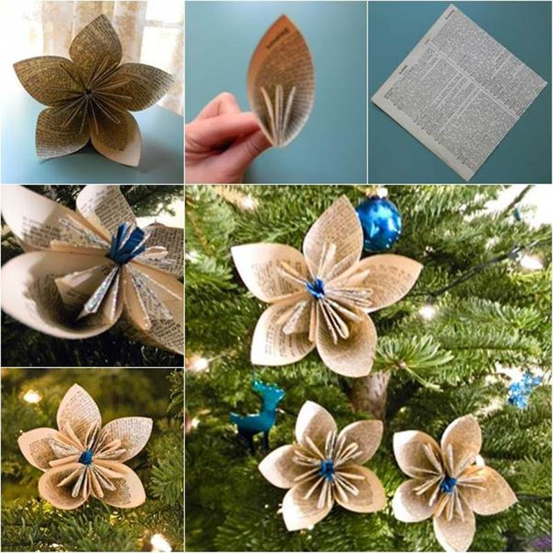 paper flowers are popular decoration for holidays and parties because