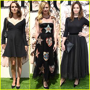 Natalie Portman, Kirsten Dunst, & Felicity Jones Doll Up for Dior!