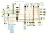 1980 Honda Cb 750 Wiring Diagram