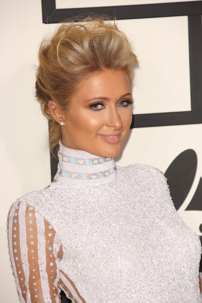 Paris Hilton Vintage Inspired Updo