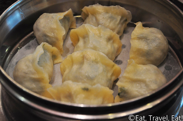 Fortune Dumpling- Monterey Park, CA: Vegetable Dumplings