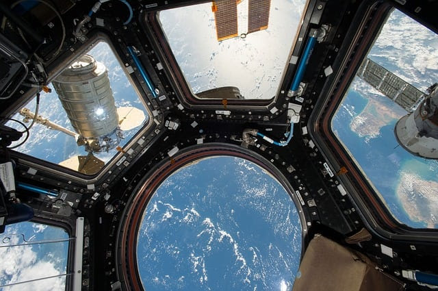 View from the International Space Station (ISS) Cupola