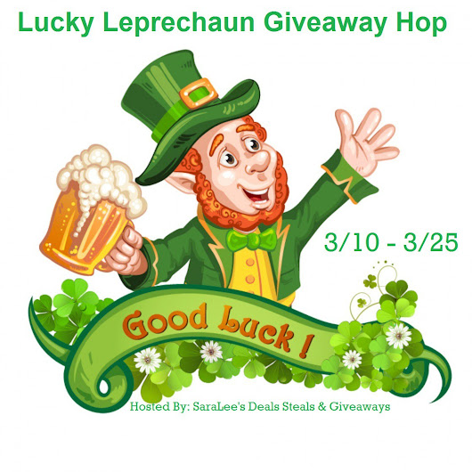 Lucky Leprechaun Giveaway Hop ~ @FreeDealSteals ~ Reviews & Giveaways!