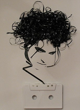The poster child of doom and gloom: Robert Smith of The Cure