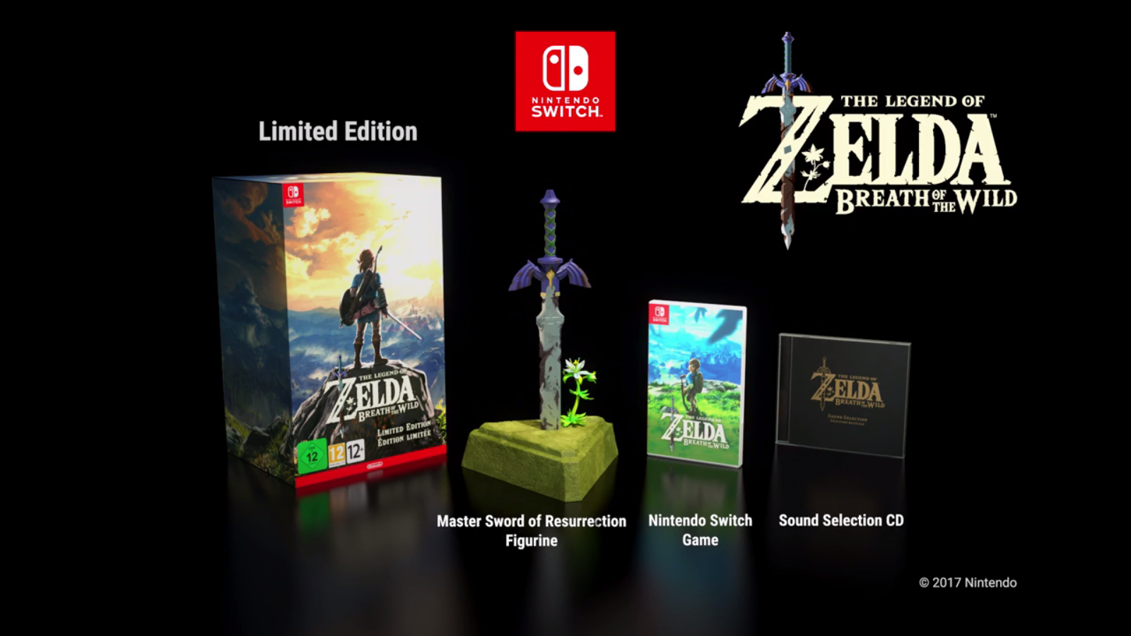 The Different Breath Of The Wild Limited Editions Around The World