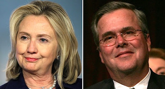 Hillary Clinton vs. Jeb Bush: The Presumptive 2016 Candidates on Drugs - Substance.com