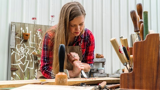Alabama Maker Flannel and Floral carves triumph from tragedy - Alabama NewsCenter